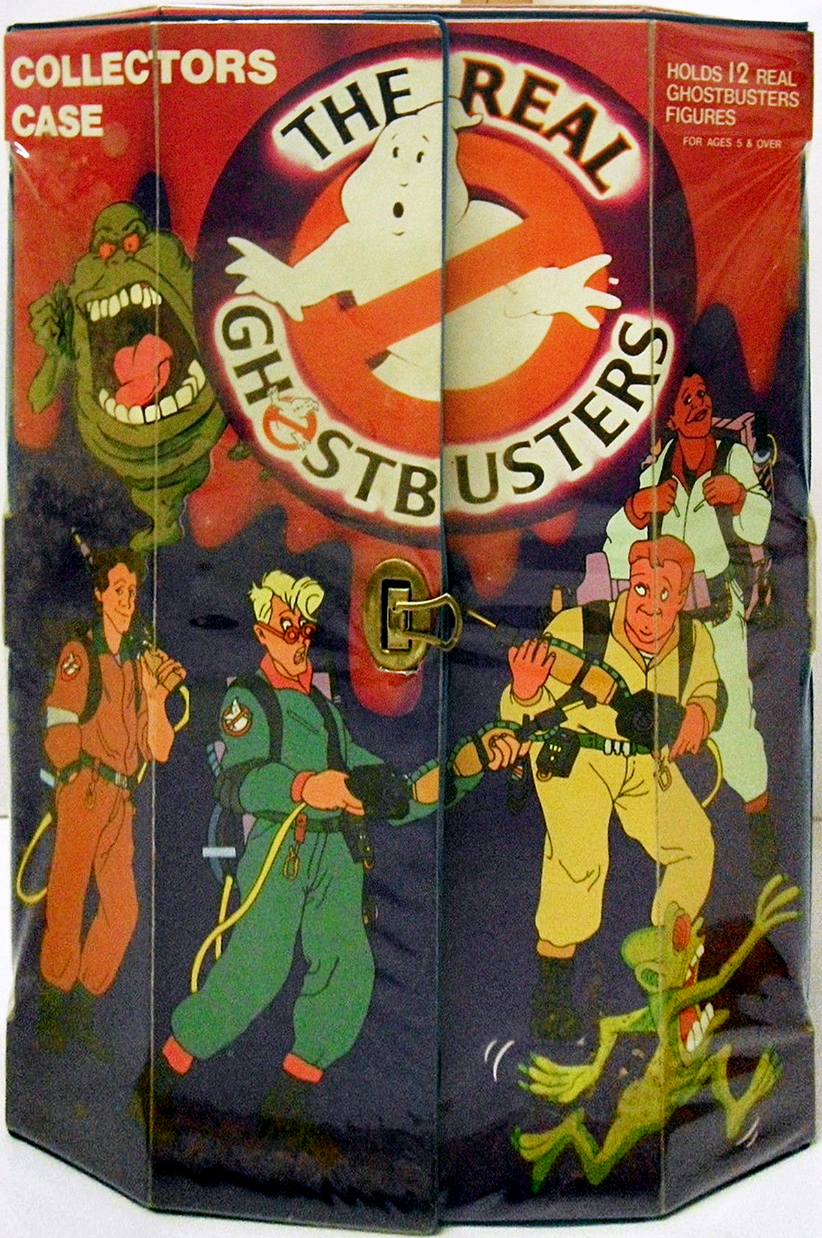 The Real Ghostbusters: Collectors Case (for action figures)