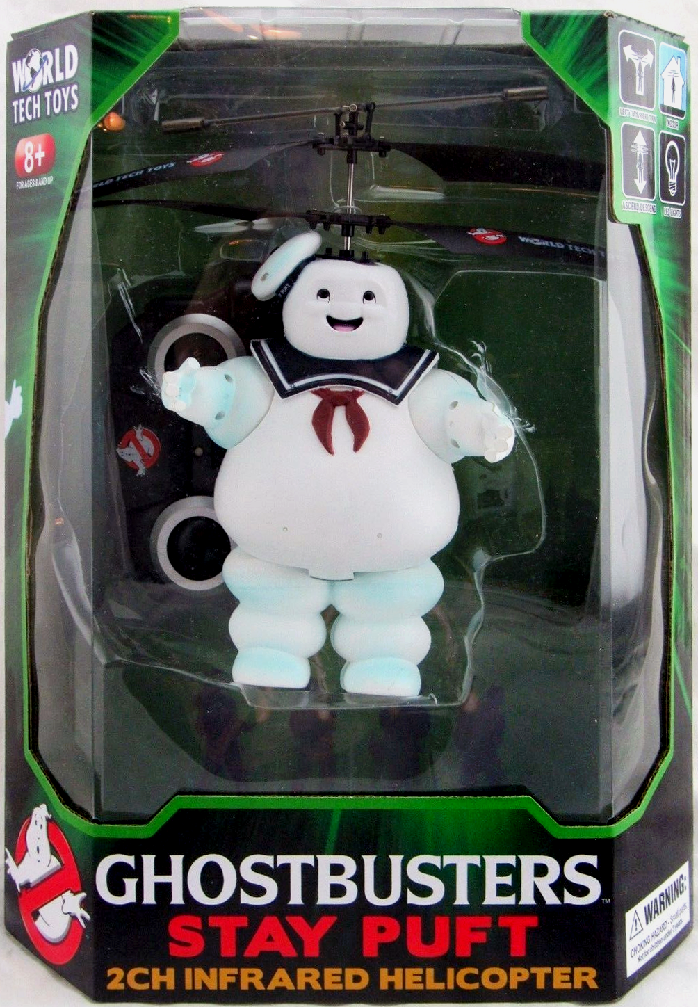 World Tech Toys: Stay Puft 2Ch Infrared Helicopter