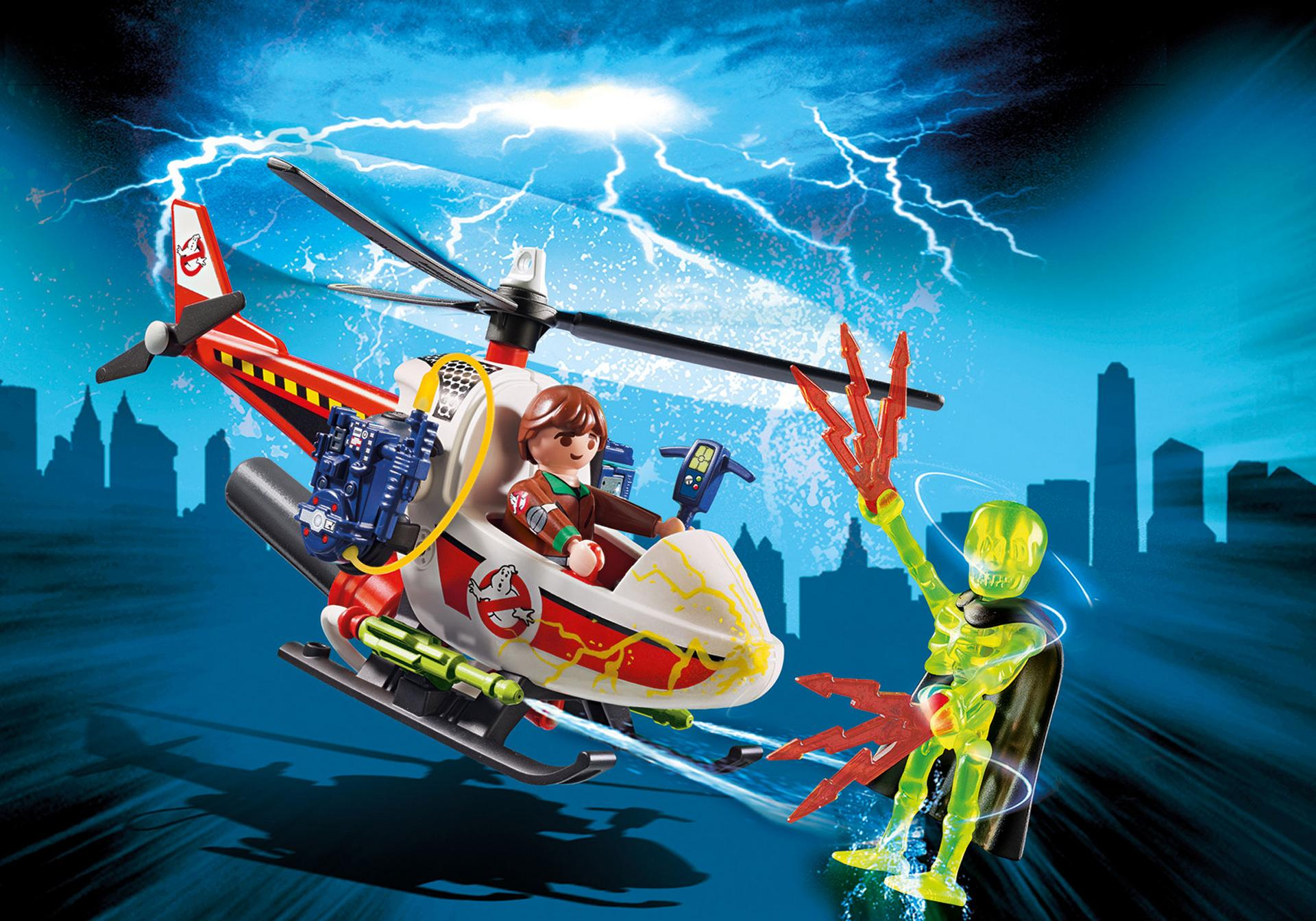 Playmobil: Venkman with Helicopter
