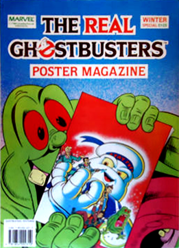 Marvel Comics Ltd- The Real Ghostbusters Poster Magazine Winter Special