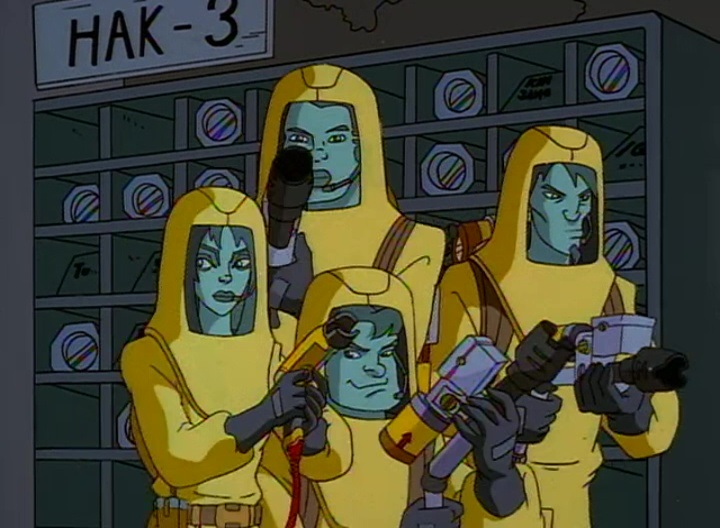 Radioactive Hazard Suits