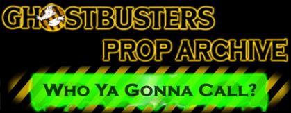 Ghostbusters Prop Archive (Fan Site)