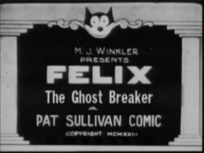 The Ghost Breaker (Felix short)