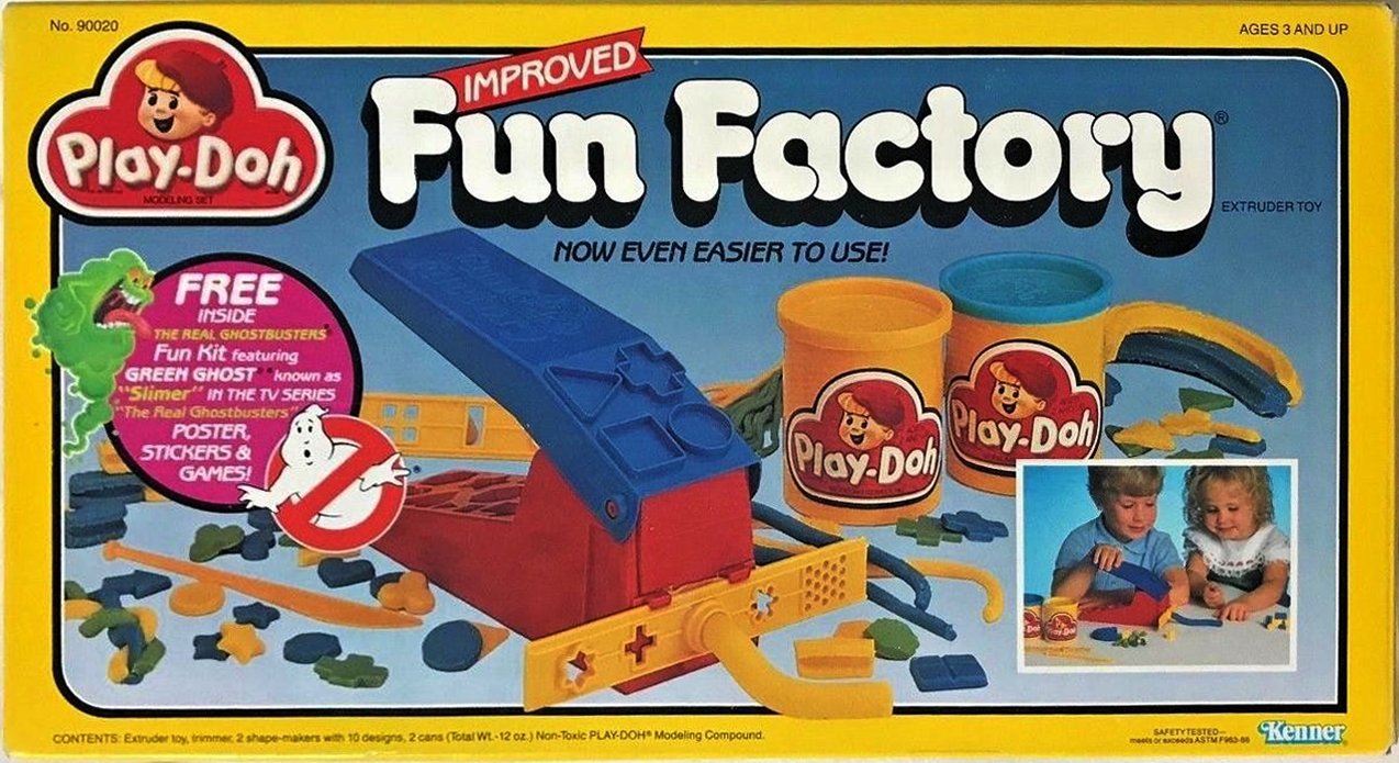 The Real Ghostbusters Fun Kit (with Play-Doh Fun Factory)