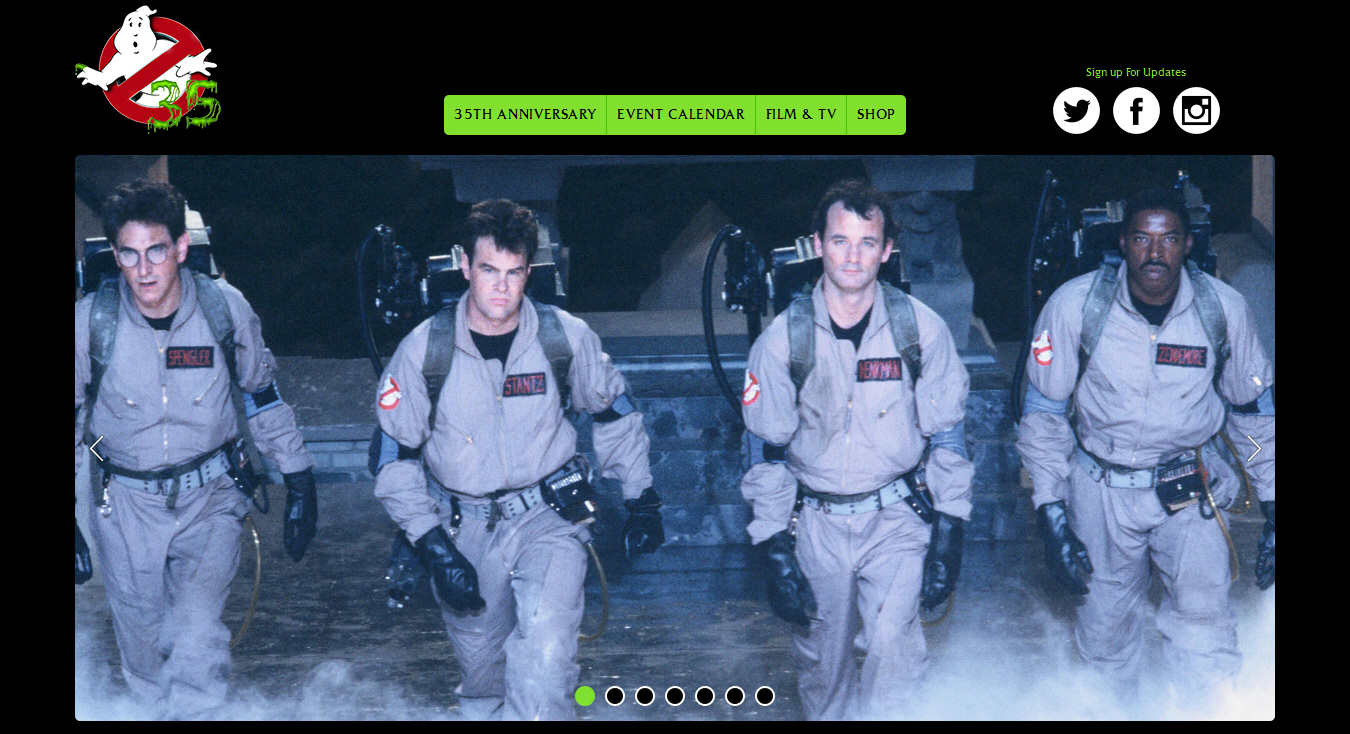 Ghostbusters Official (Web Site)