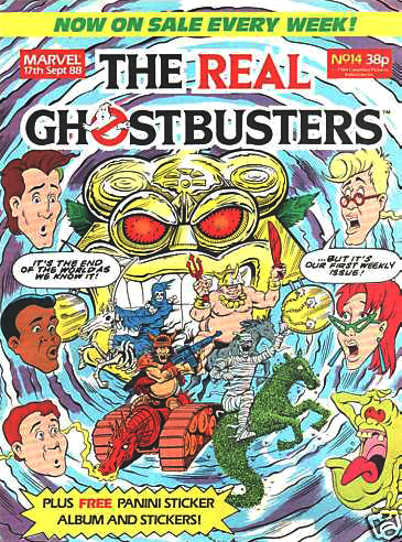 Marvel Comics Ltd- The Real Ghostbusters 014