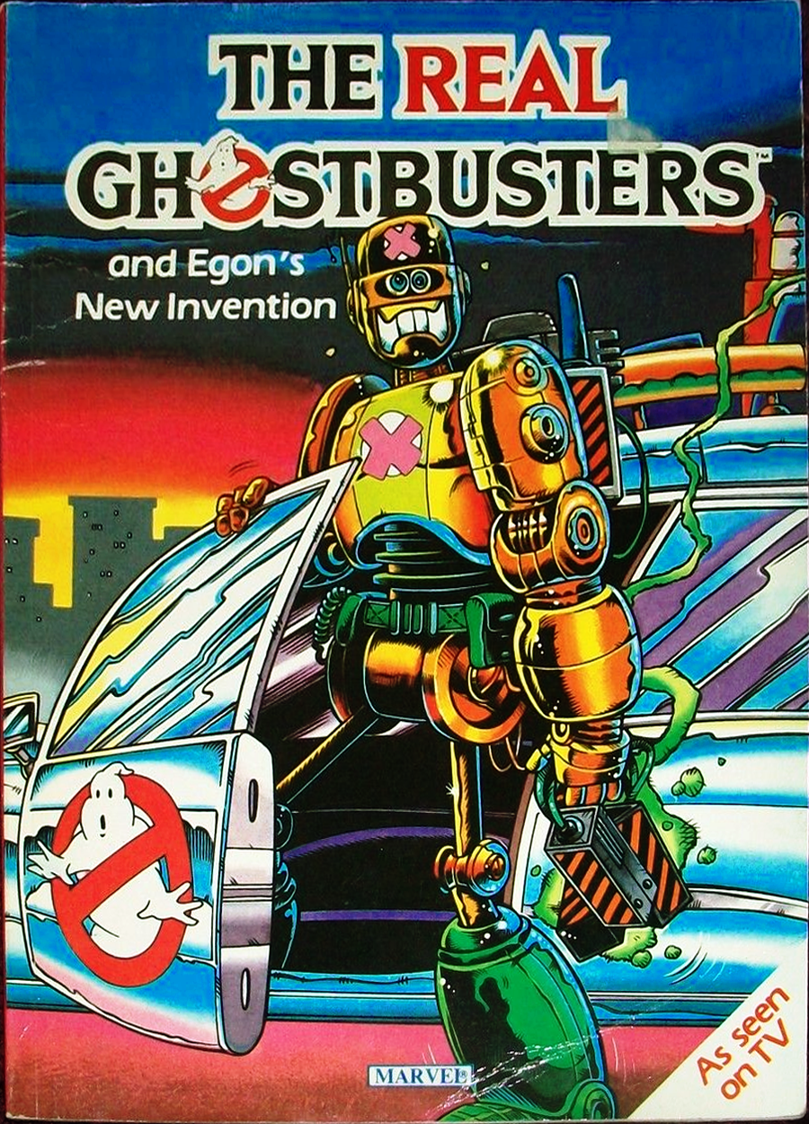 Marvel Comics Ltd- The Real Ghostbusters: and Egon's New Invention