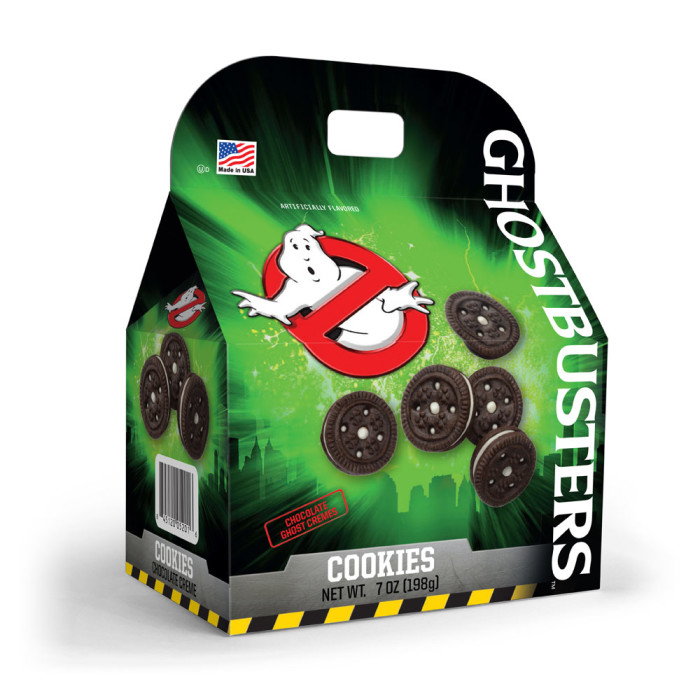 Primary Colors Ghostbusters related snack food products