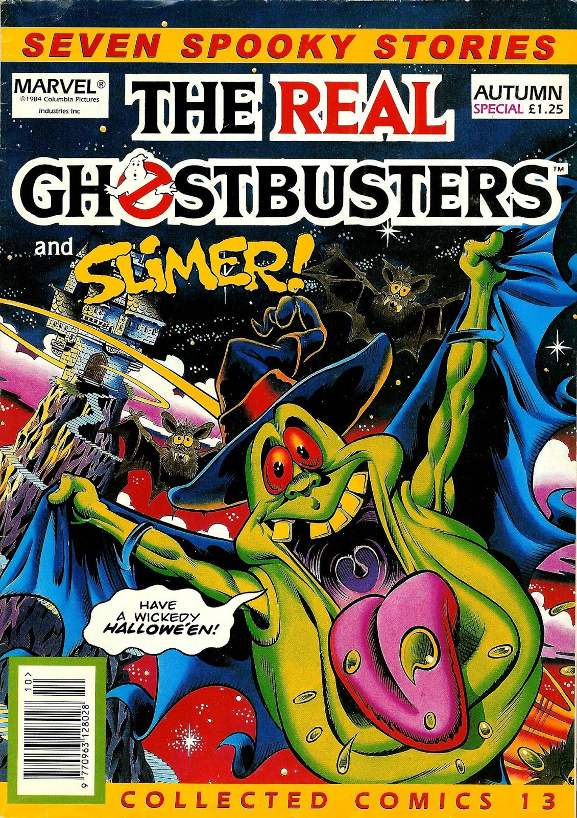 Marvel Comics Ltd- The Real Ghostbusters Collected Comics 13 Autumn Special
