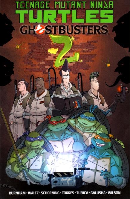 IDW Publishing Comics- Teenage Mutant Ninja Turtles/Ghostbusters Volume 2 TPB