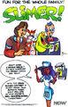 Slimer comic ad in rgb v1 no19