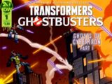 IDW Publishing Comics- Transformers/Ghostbusters: Ghosts of Cybertron 1