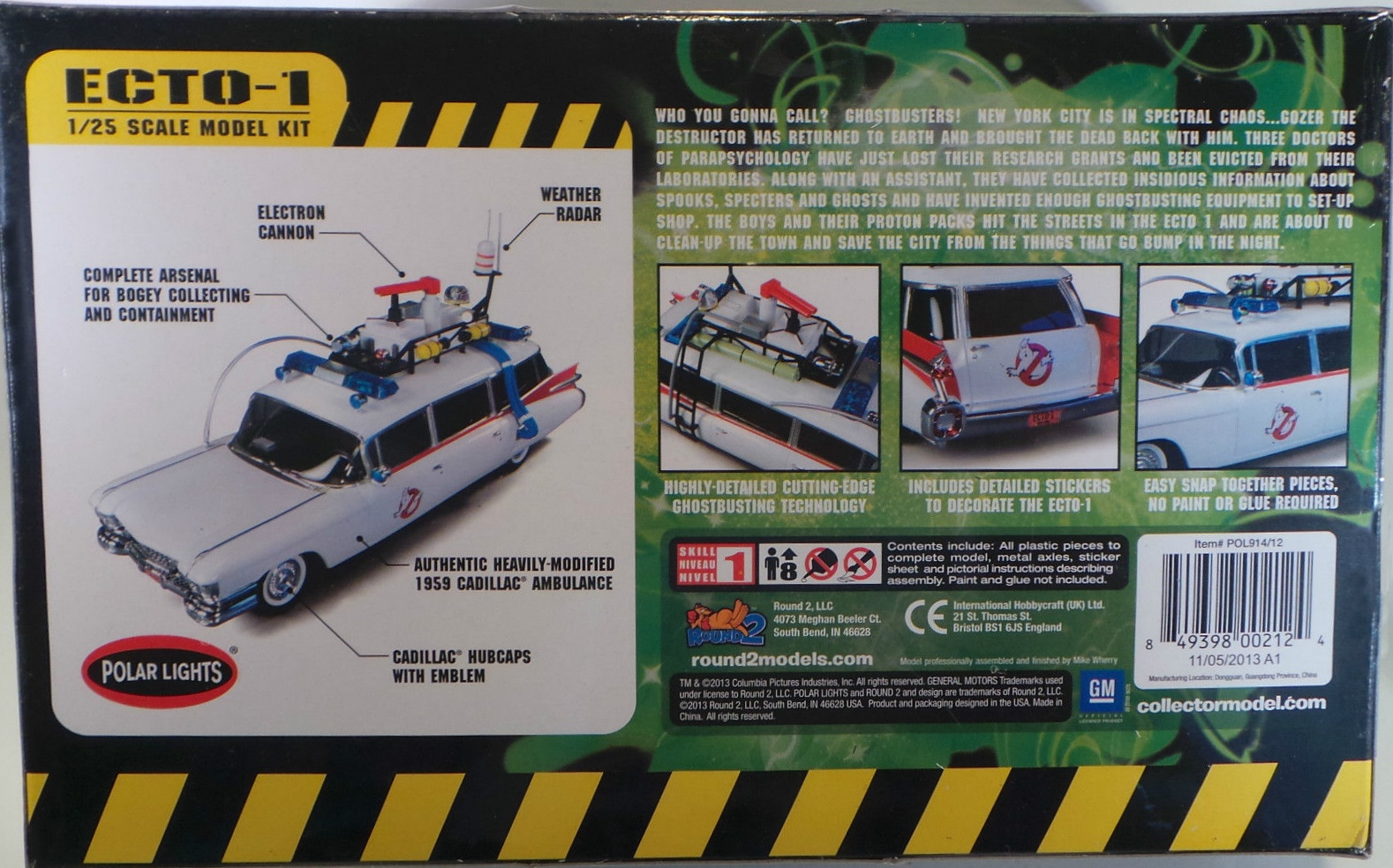 Round 2, LLC Ghostbusters Toy Line