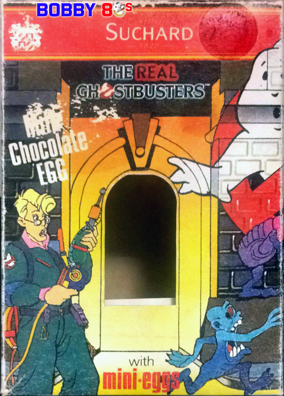 Jacobs Suchard The Real Ghostbusters confectioneries products line