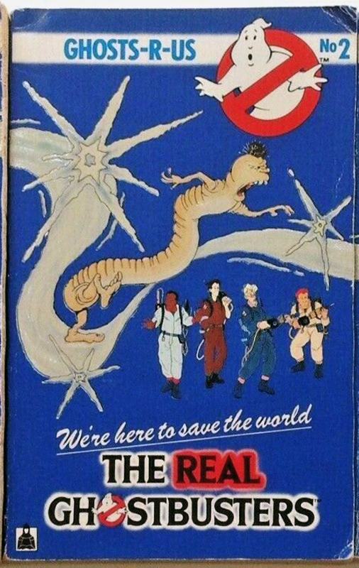 Knight Books- The Real Ghostbusters: Ghosts-R-Us