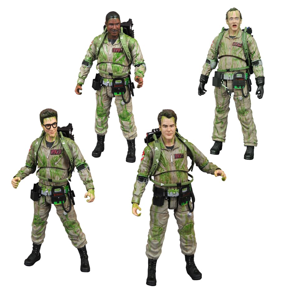 Diamond Select Ghostbusters: Slimed Ghostbusters Action Figure Box Set