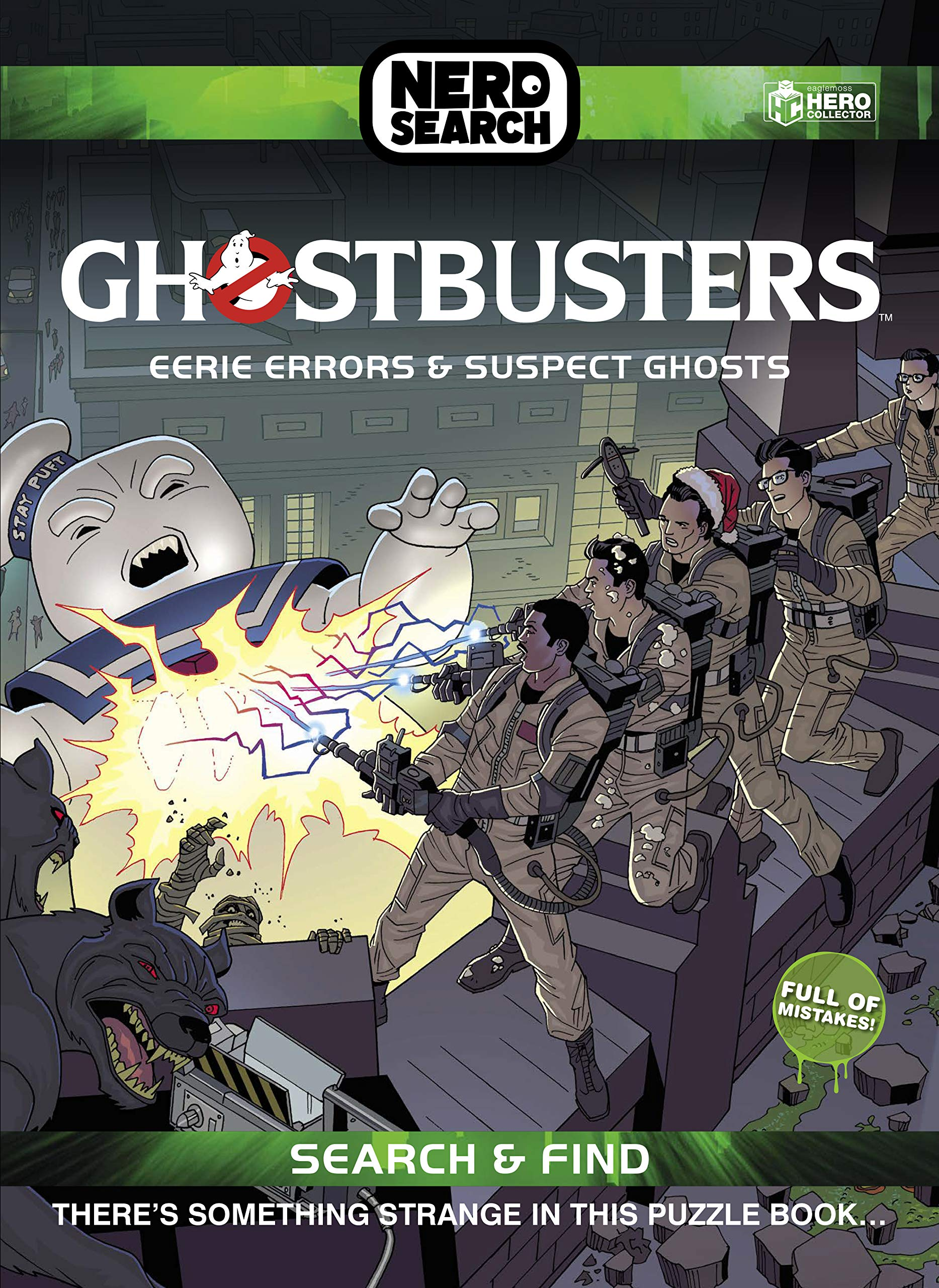 Ghostbusters Nerd Search: Eerie Errors & Suspect Ghosts