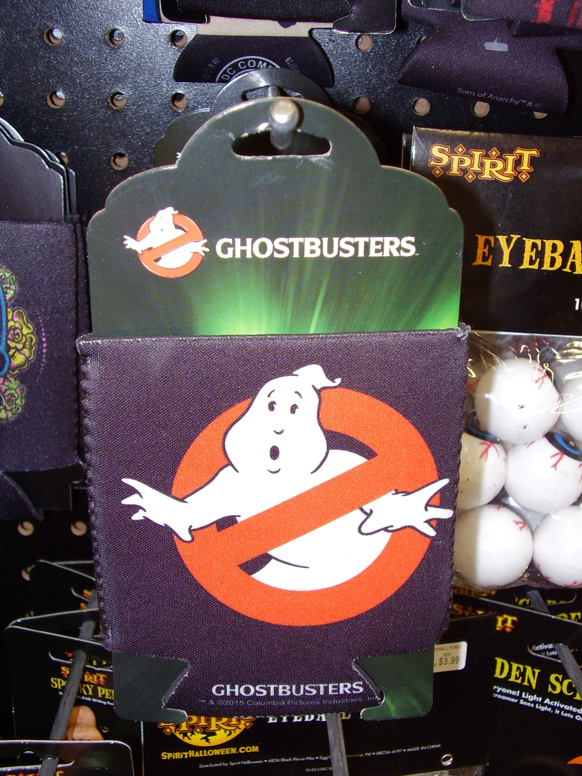 Just Funky produced Ghostbusters Merchandise line