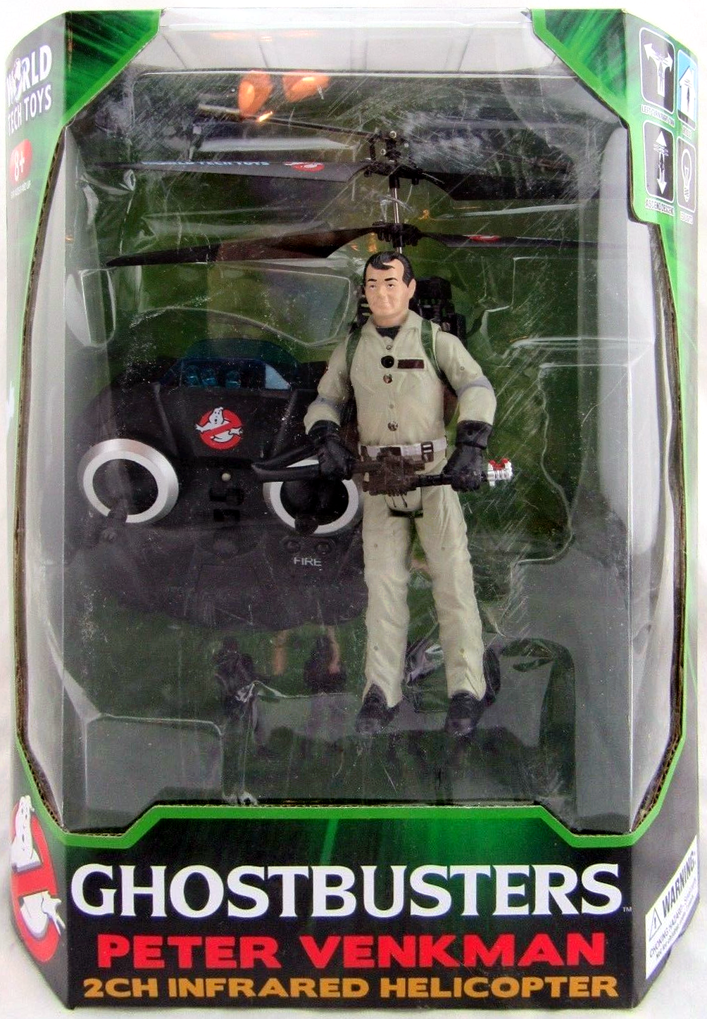 World Tech Toys: Peter Venkman 2Ch Infrared Helicopter