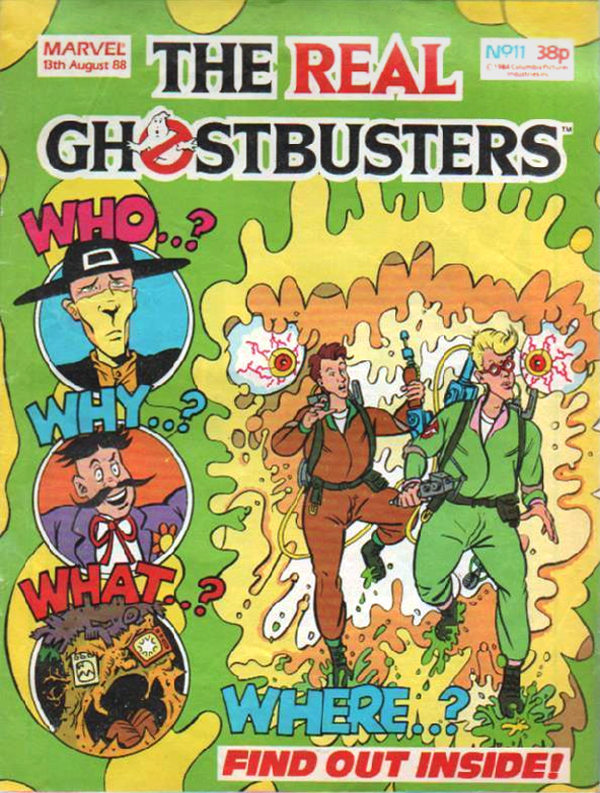 Marvel Comics Ltd- The Real Ghostbusters 011