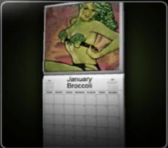 Pin-Up Calendar of Doom!