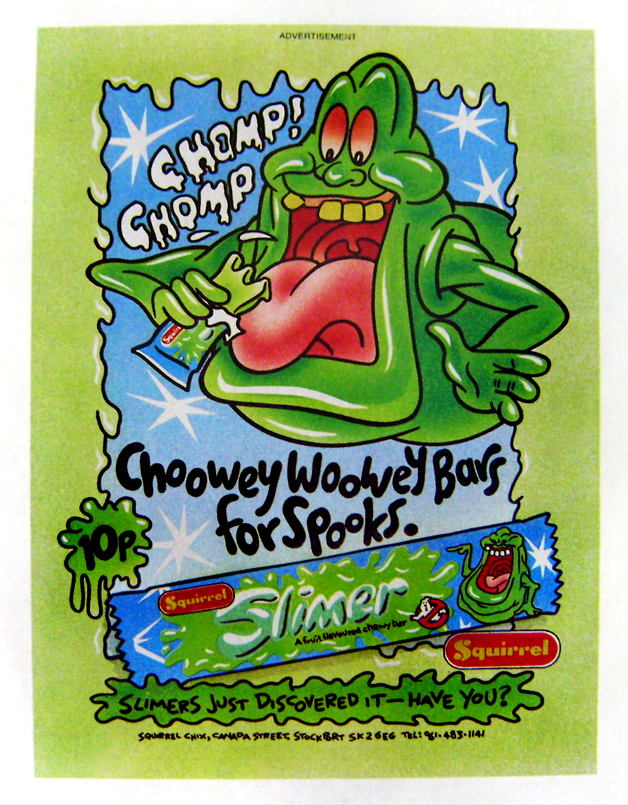 Slimer A Fruit Flavoured Chewy Bar