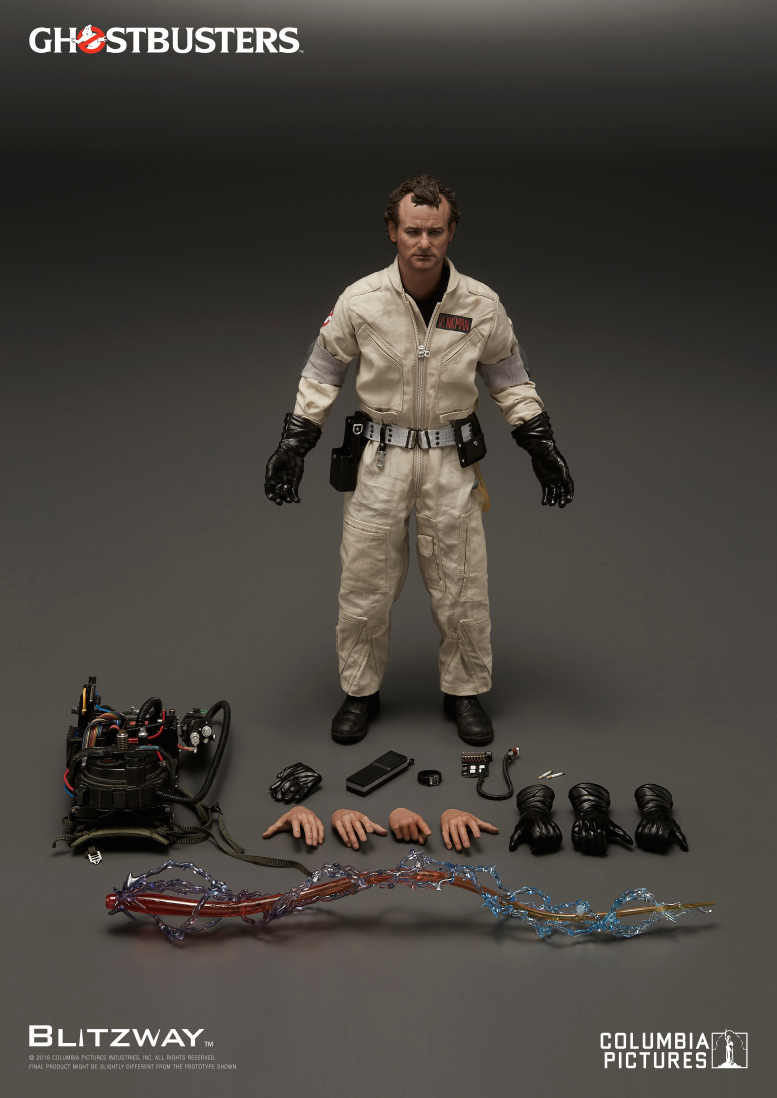 Blitzway: Ghostbusters 1984 1/6th scale Peter Venkman