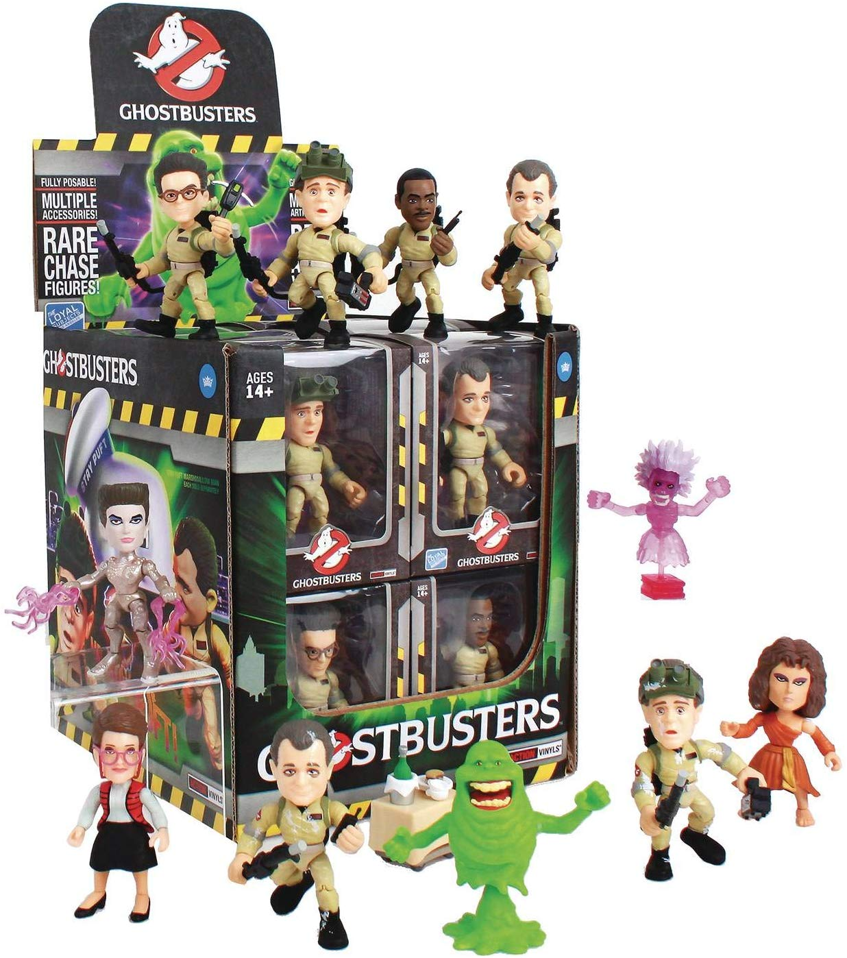 The Loyal Subjects Ghostbusters related toy merchandise