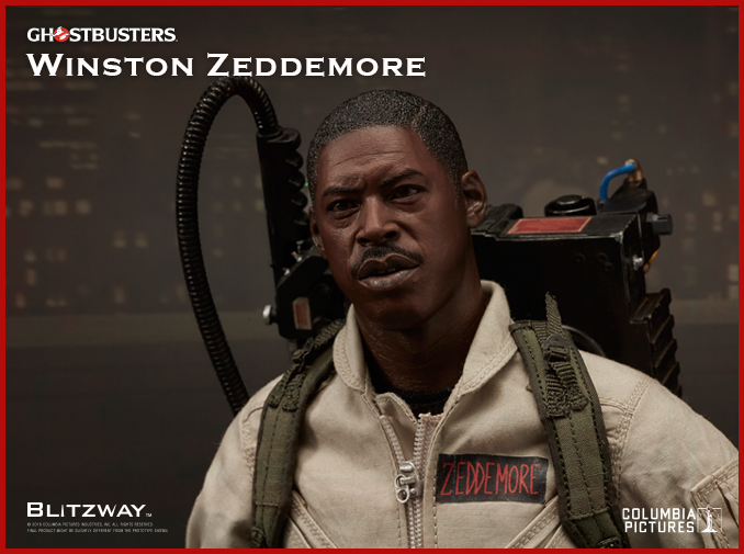 BLITZWAY Ghostbusters Zeddemore Ghostbusters Banner loose 1//6th scale