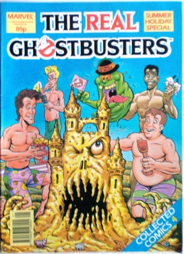Marvel Comics Ltd- The Real Ghostbusters Collected Comics 04 Summer Holiday Special