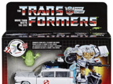 Transformers-Ghostbusters Collaborative: Ghostbusters Ecto-1 Ectotron Figure