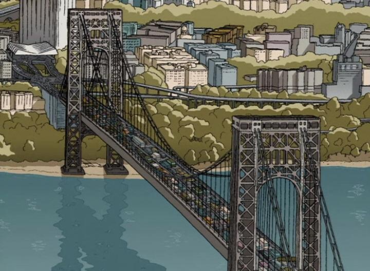 George Washington Bridge/Animated