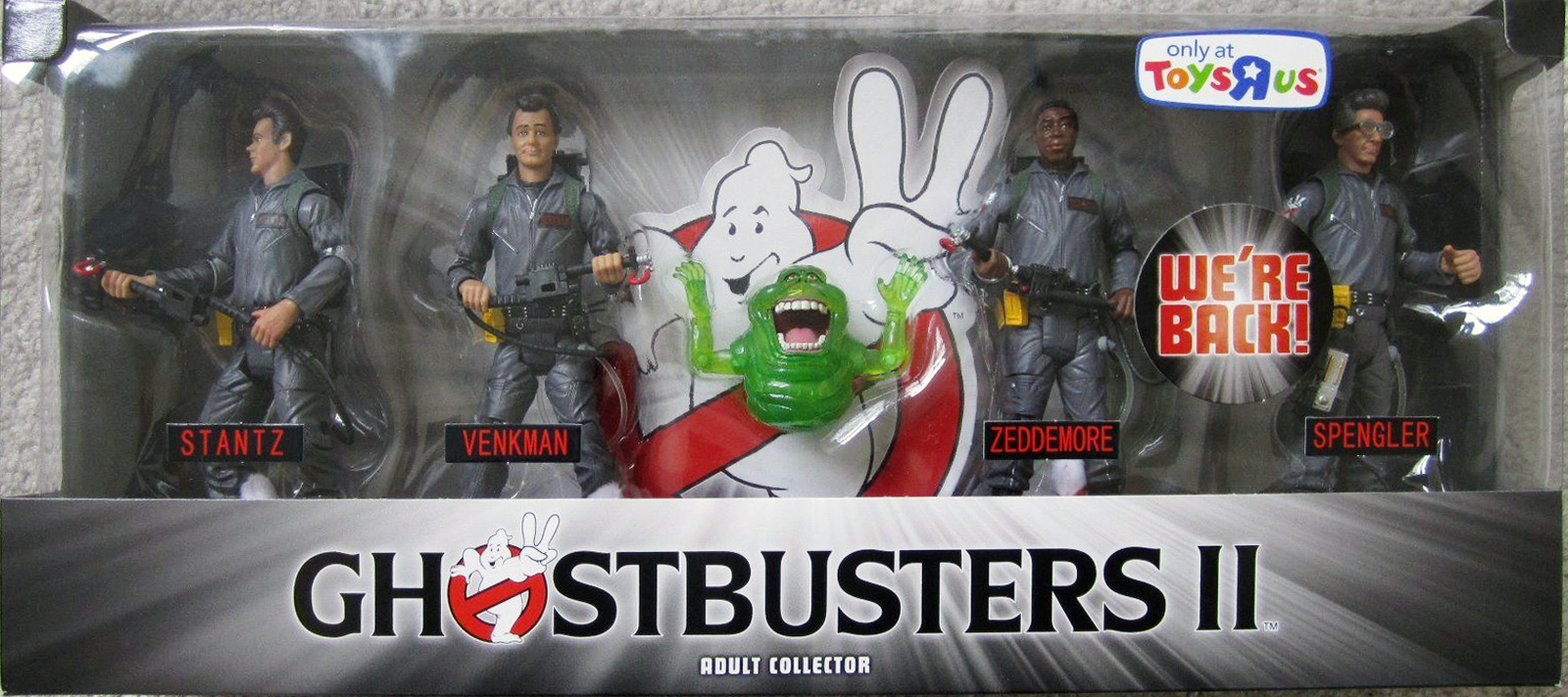 Matty Collector: 6″ Ghostbusters II 4-Pack