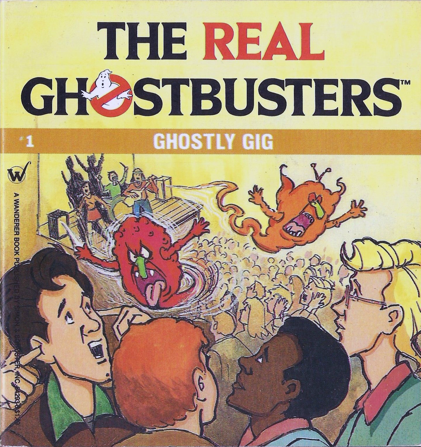 The Real Ghostbusters: Ghostly Gig