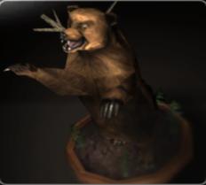 Anguished Stuffed Bear