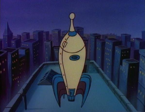 Delivery Robot's Rocket