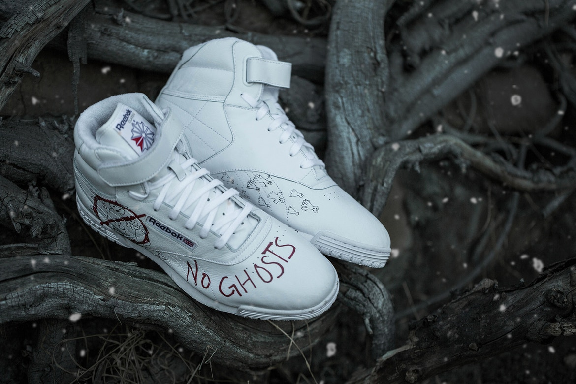 BAIT x Stranger Things x Ghostbusters x Reebok Ex-O-Fit Clean Sneakers