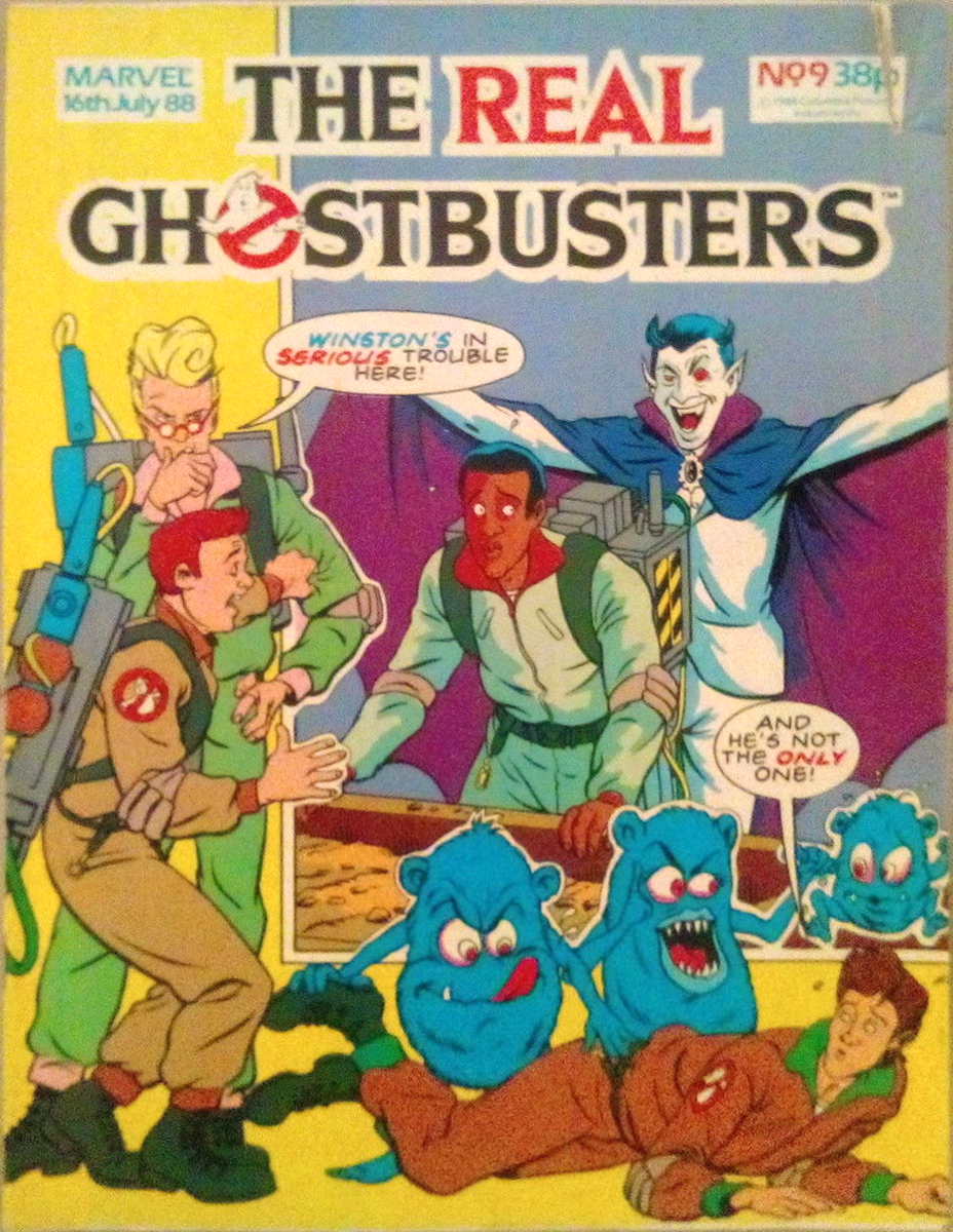 Marvel Comics Ltd- The Real Ghostbusters 009