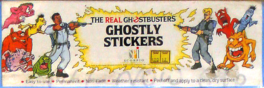 Scorpio Products International LTD's The Real Ghostbusters Printed Merchandise