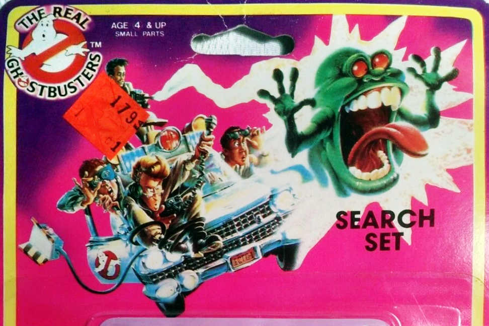 Ja-ru The Real Ghostbusters related party items