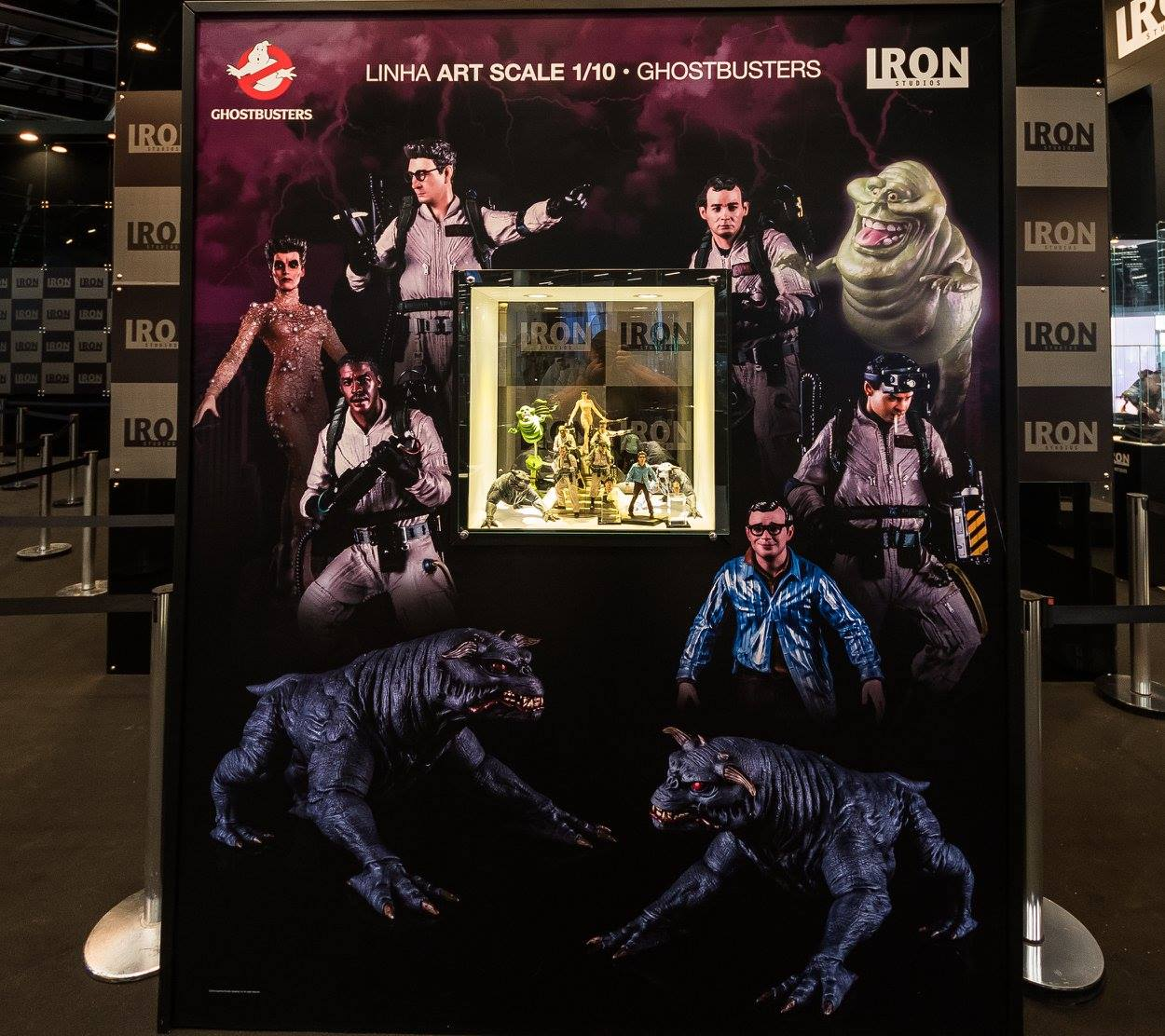 Iron Studios produced Ghostbusters Merchandise