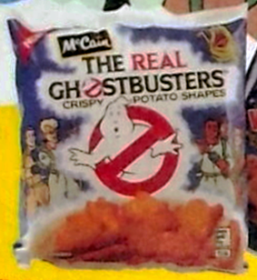 The Real Ghostbusters Crispy Potato Shapes