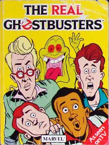 """Marvel Comics Ltd- The Real Ghostbusters: Pocket Comic Book """"As Seen On TV"""""""