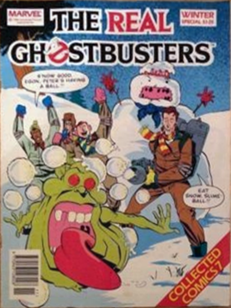 Marvel Comics Ltd- The Real Ghostbusters Collected Comics 07 Winter Special