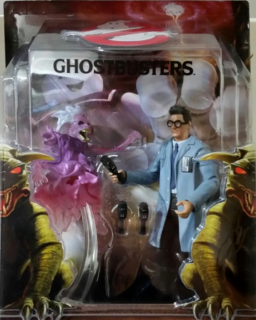 READY TO BELIEVE YOU EGON SPENGLER FIGURE PKE METERS LIBRARY GHOST GHOSTBUSTERS