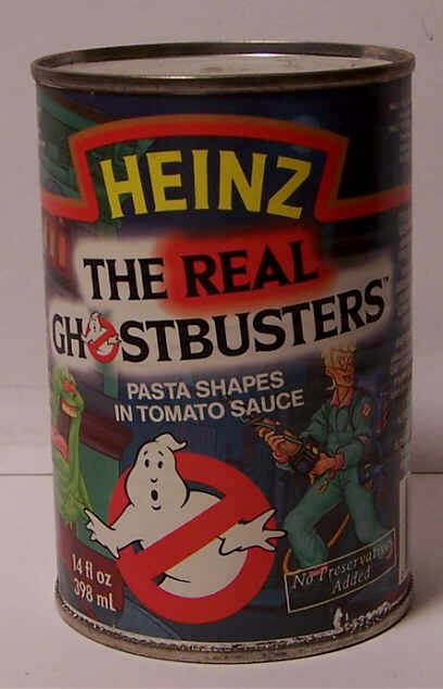 The Real Ghostbusters Pasta