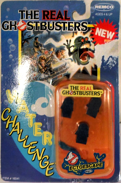 The Real Ghostbusters Water Challenge: Ectoescape