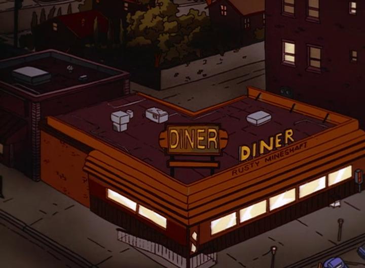 Rusty Mine Shaft Diner