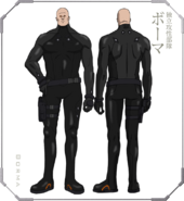 Ghost in the Shell The New Movie Character Design 08