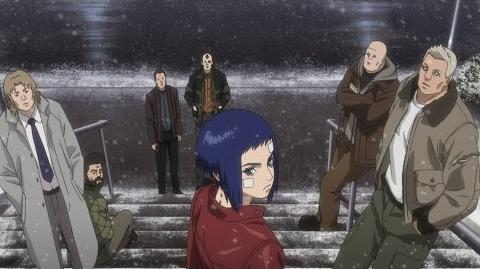 Ghost in the Shell ARISE border 4 Ghost Stands Alone
